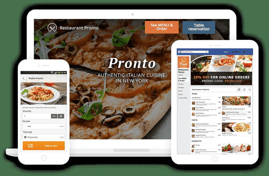 food online ordering app happideals